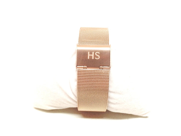 Harry Spring Rose Gold Milanese Watch Strap