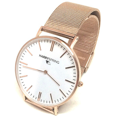 Harry Spring Gold Milanese Watch