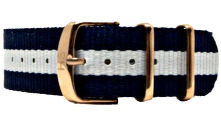 Micha Spring Rose Gold Buckle Watch Strap