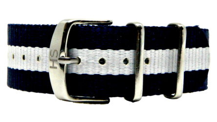 Micha Spring Silver Buckle Watch Strap