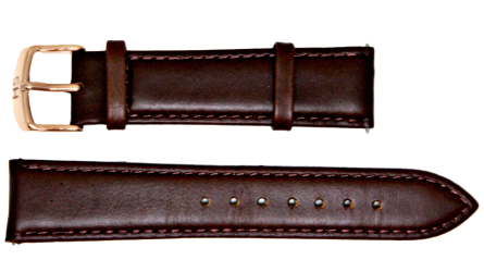 Remy Spring Brown Leather Watch Strap