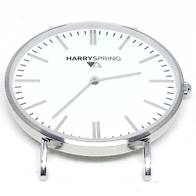 Harry Spring Silver Watch Face