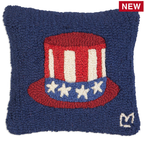 Tip Your Hat for USA! Throw Pillow - Carleton Varney
