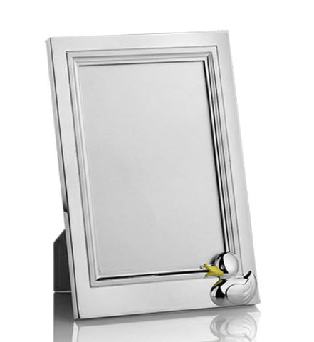 "Duck Silver 4"" X 6"" Photo  Frame - Carleton Varney"