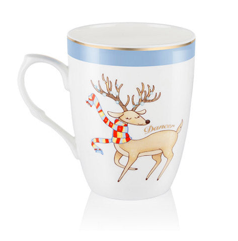 Dancer Christmas Mug - Carleton Varney