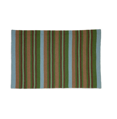 Flatweave 100% Wool Rug- Boys Club