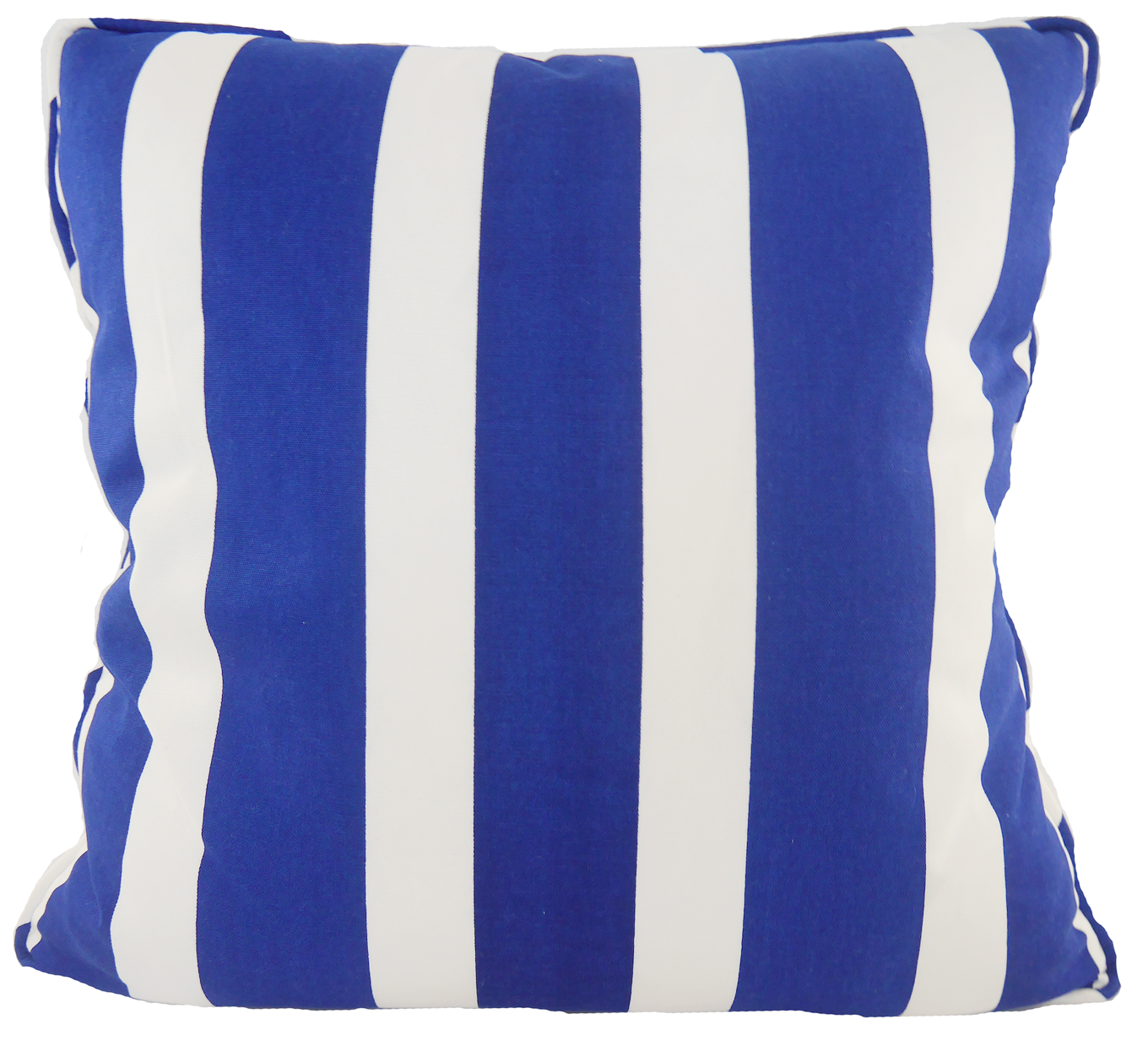 Striped Skipper Throw Pillow Cover - Blue - Carleton Varney