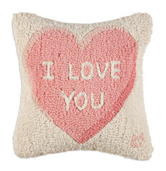 I love You - Wool Pillow - Carleton Varney