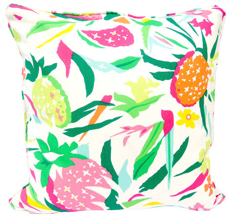 Summer Fruits Throw Pillow Cover - Carleton Varney