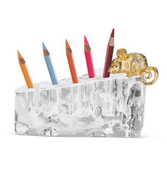 Swiss Cheese Pencil Holder - Carleton Varney