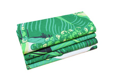 Set of 4 Napkins - Brazilliance/Green - Carleton Varney