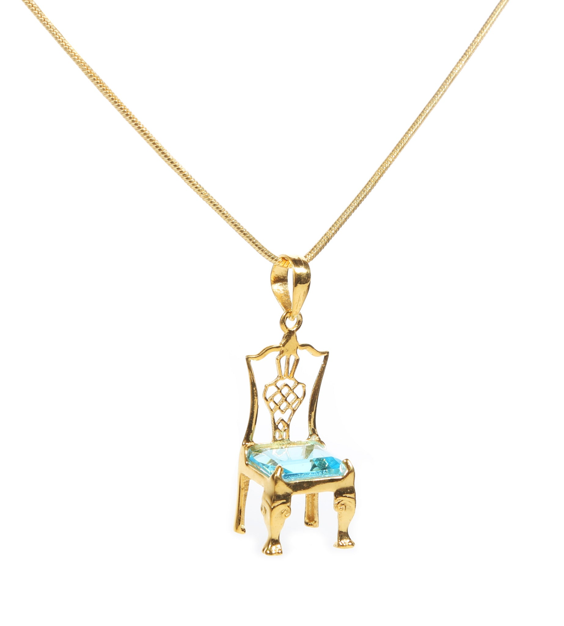 Carleton Varney Birthstone Chair Necklace - Carleton Varney