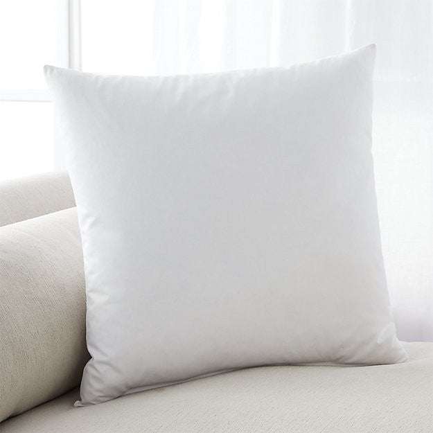 "Feather-Down 22"" Pillow Insert - Carleton Varney"