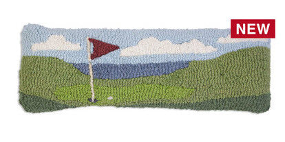 On The Tee - Hand Hooked Wool Pillow - Carleton Varney