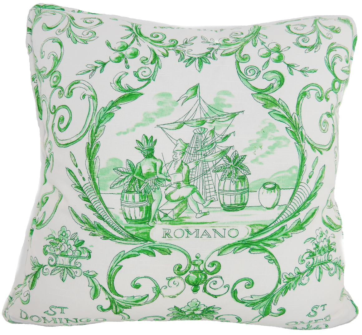 Martiniek White Throw Pillow Cover - Carleton Varney
