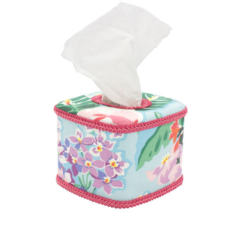 Tissue Box Holder - Shannongrove Blue