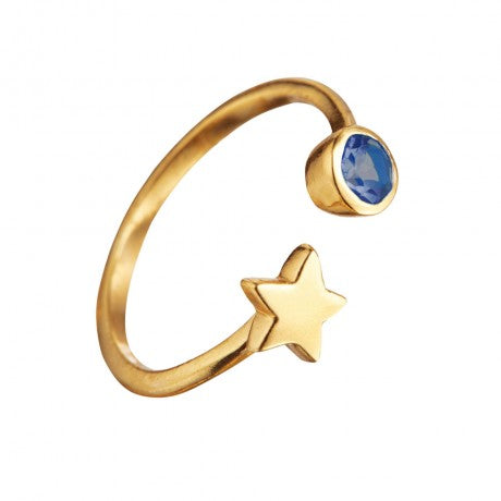 Open Skies Star Ring - Gold Finish - Carleton Varney