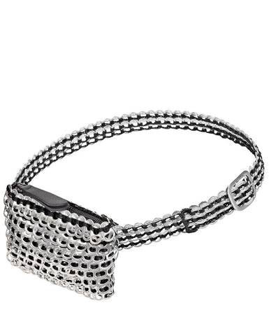 Beltao Belt Bag - Silver/Black - Side