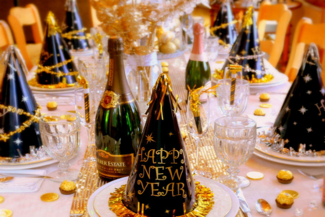 Top 10 New Year's Party House Decors