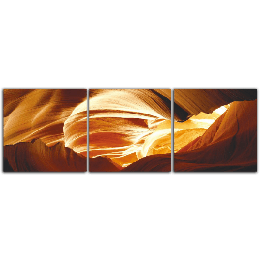 3 Panel Caves Of Grand Canyon Framed Wall Canvas Art | Octo Treasure
