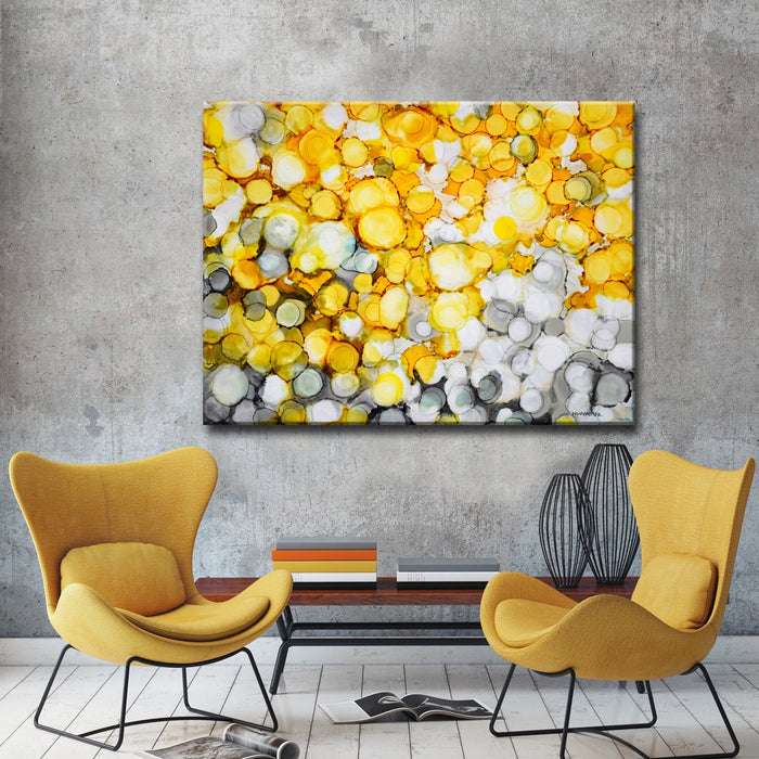 """River Gold"" by Norman Wyatt, Jr. Canvas Painting"