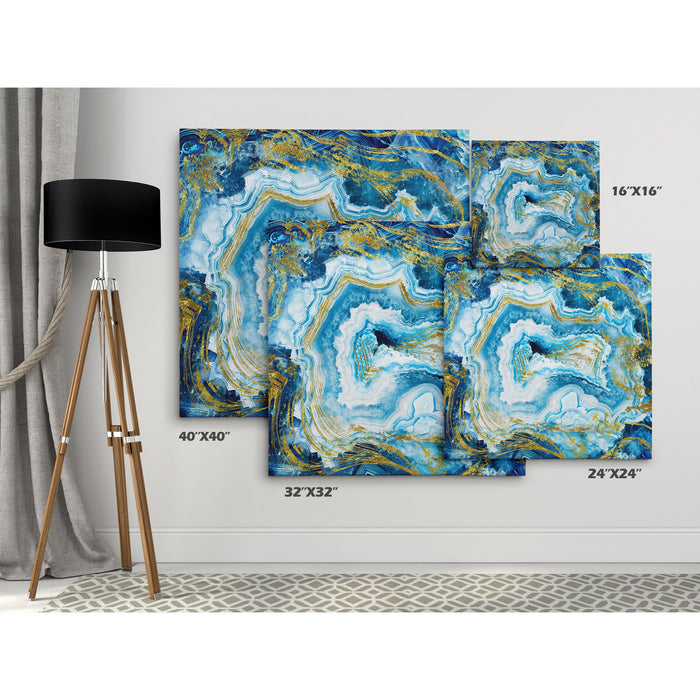 """Twelve Part Shrines"" Abstract Giclee Canvas Prints"