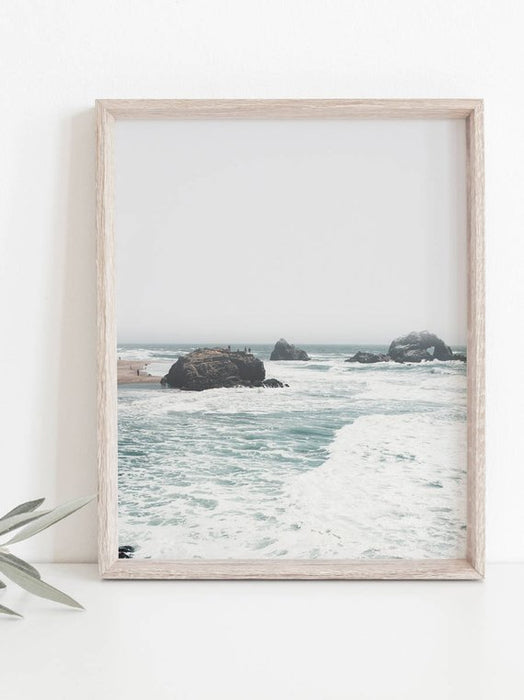 Beach Print,Costal Print,Coastal Wall Art,Beach Wall Art,Ocean Print,Coastal Decor,Beach Photography,Water Print,Blue Wall Art,Beach Art