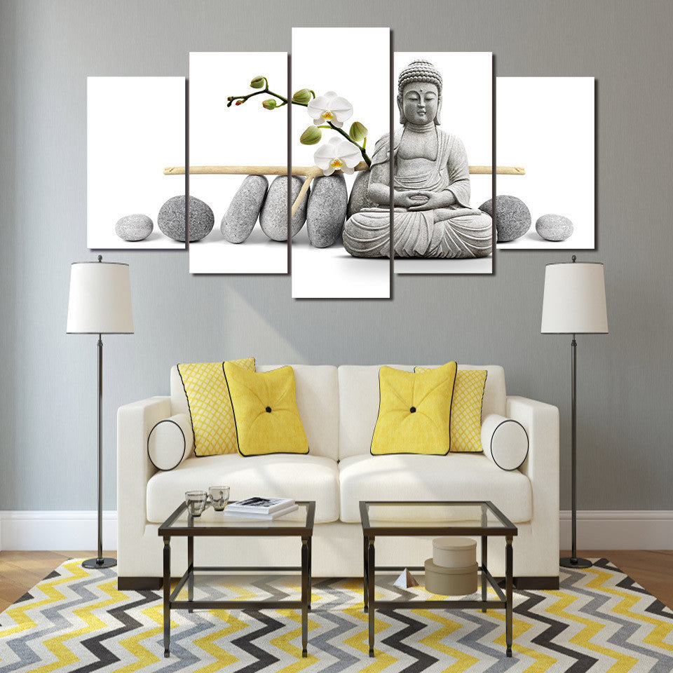 HD Printed Stone Buddha Painting Canvas Print room decor print poster picture canvas Free shipping/ny-3058 | Octo Treasure
