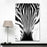 """Animal Zebra Close Up Look"" Canvas Wall Art 