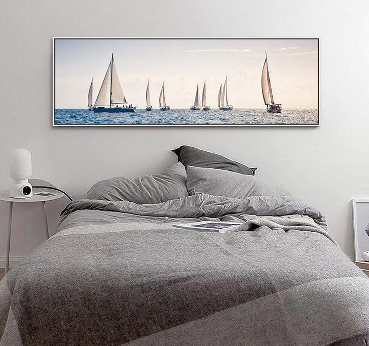 """The Hilary Sailboat"" Canvas Painting"