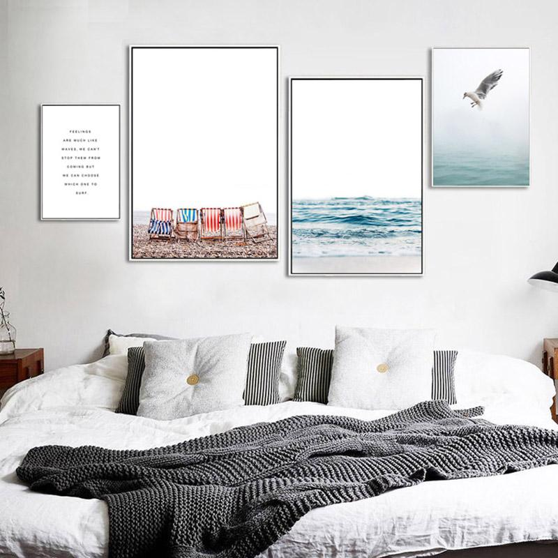 """Might of Amazement"" Nordic Seascape Canvas Prints Unframed"