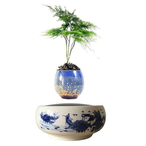 Marratis Magnetic Levitation Floating Plant Decor