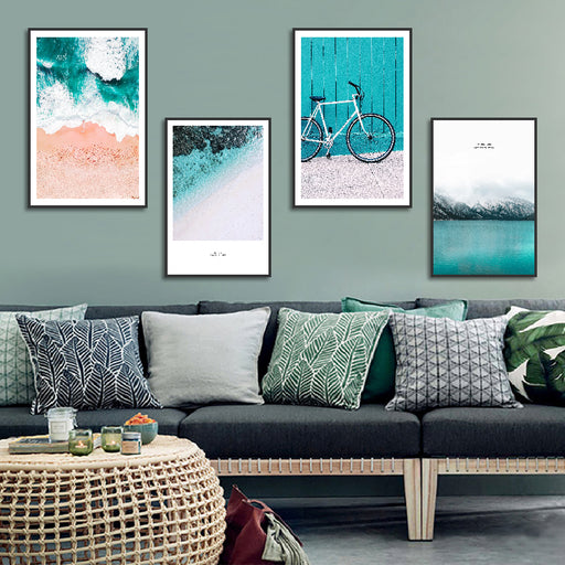 Nordic Coast Adventure Seascape Wall Art Collection