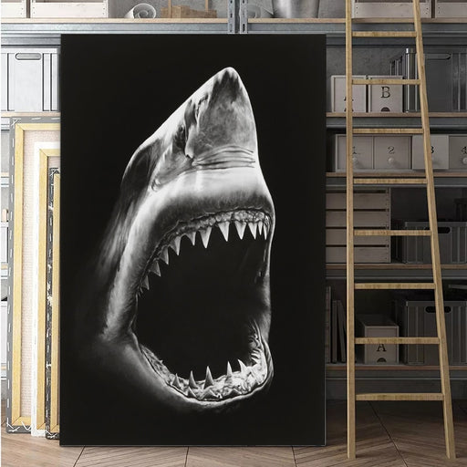 Great White Shark Canvas Prints Wall Art