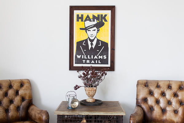 Hank Williams Trail Print