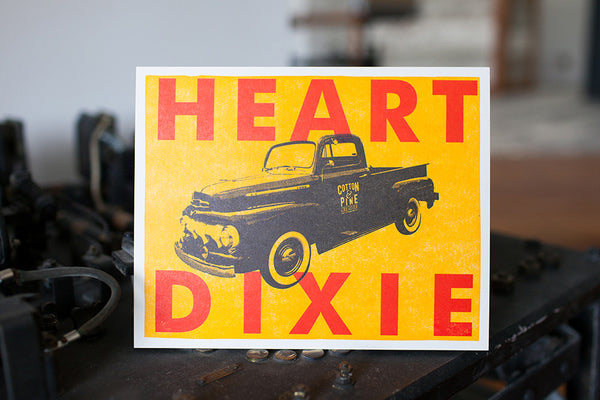 Heart of Dixie Print