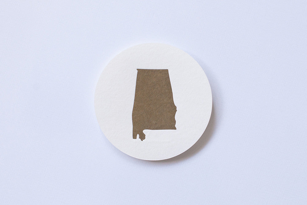 Alabama the Beautiful Coasters