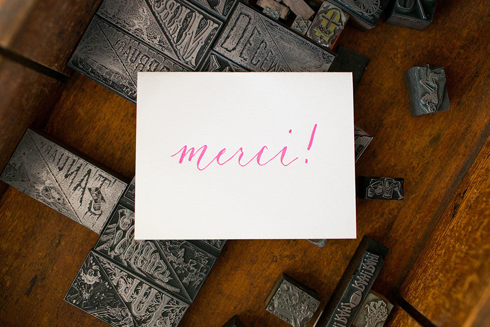 Beatrice Merci Card