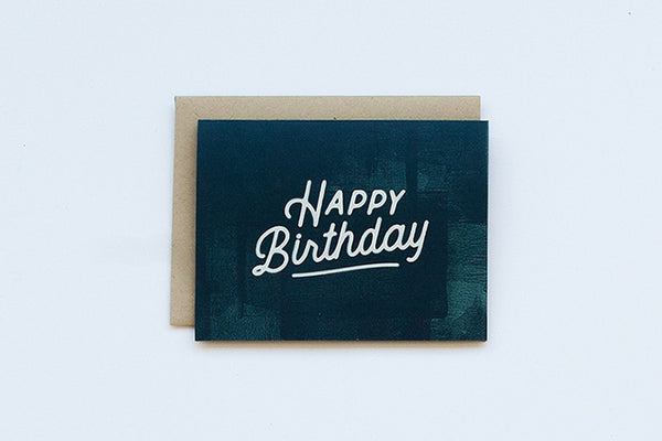 Indigo Happy Birthday Card