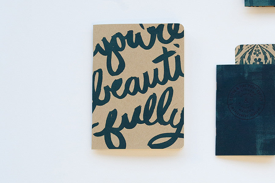 Doing Beautifully Journal – Navy