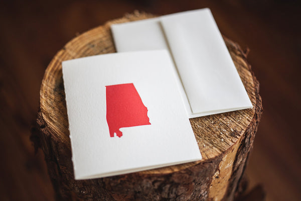 Alabama the Beautiful Card