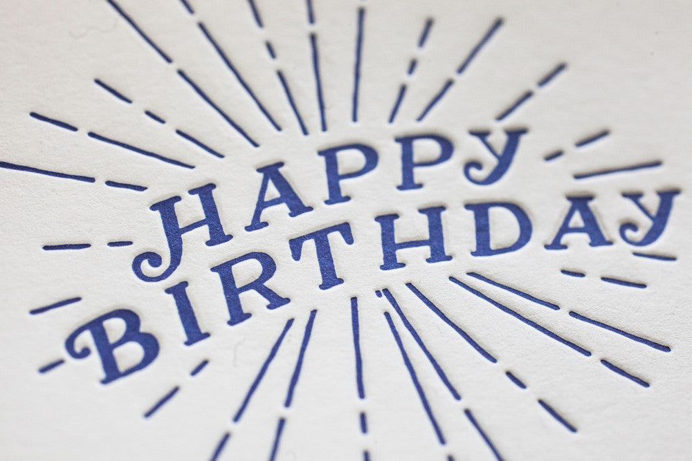 Brighton Happy Birthday Card
