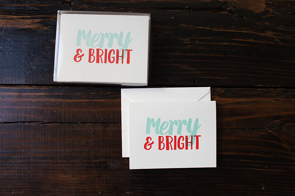 Merry & Bright Card