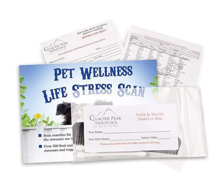 Glacier Peak Holistics Allergy Relief Pet Wellness Life Stress Scan
