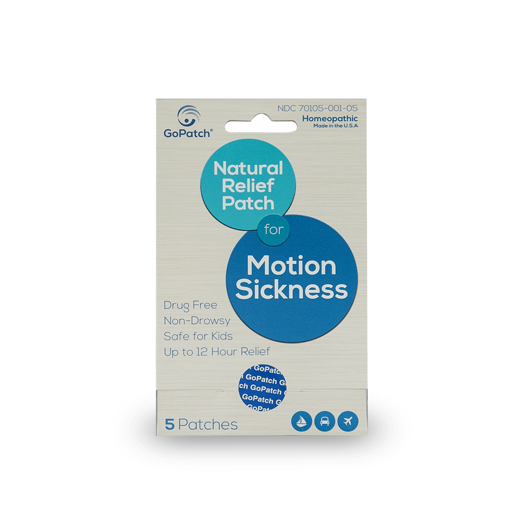 GoPatch Remedy Natural Motion Sickness Patch For Dogs