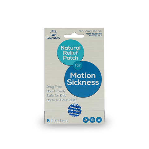 Natural Motion Sickness Patch For Dogs