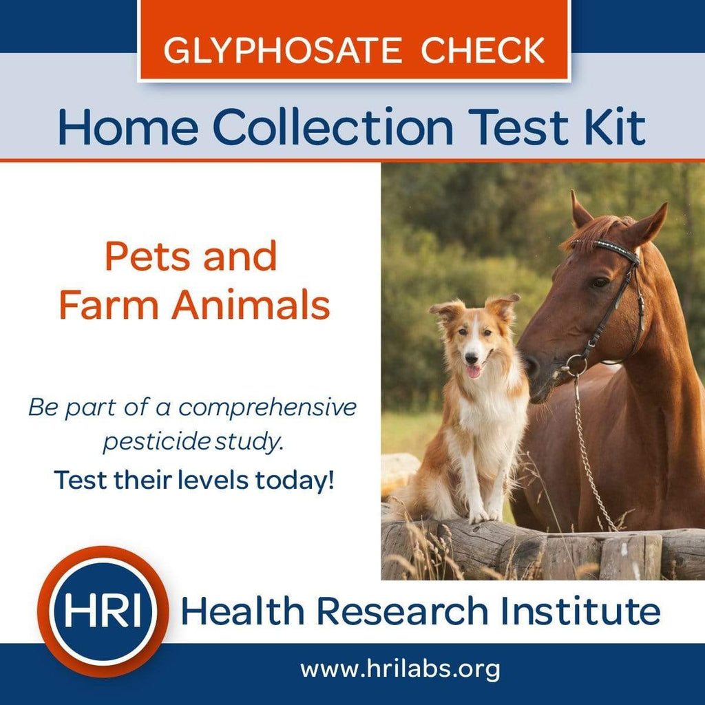 Health Research Institute Immune Support Glyphosate Test Kit