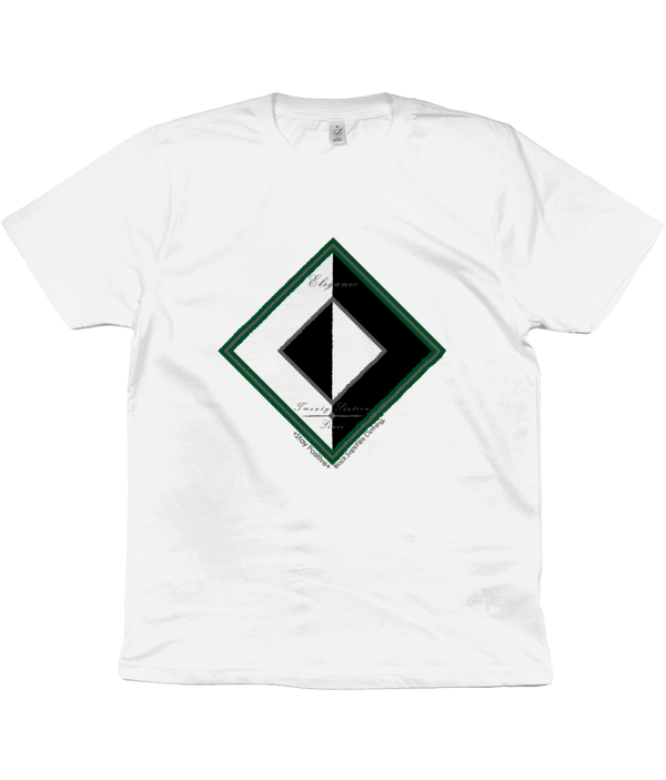 BLK ft. WHT Earth t-shirt (UNISEX)