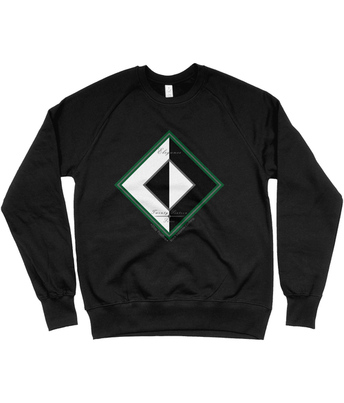 BLK ft. WHT EARTH Sweatshirt (UNISEX)