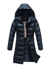 Load image into Gallery viewer, ELORA Women's Winter Coat With Faux Fur And Quilted Lining